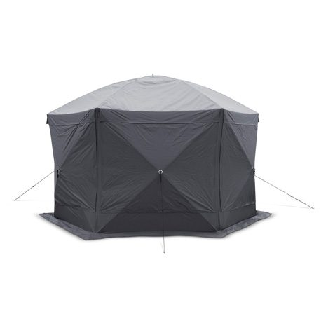 Oasis 120 Gazebo (with Tiedowns)- Closed with Wind Panels copy